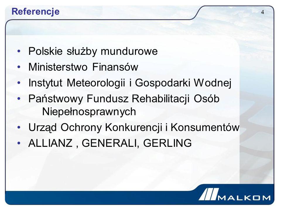 Polskie służby mundurowe Ministerstwo Finansów