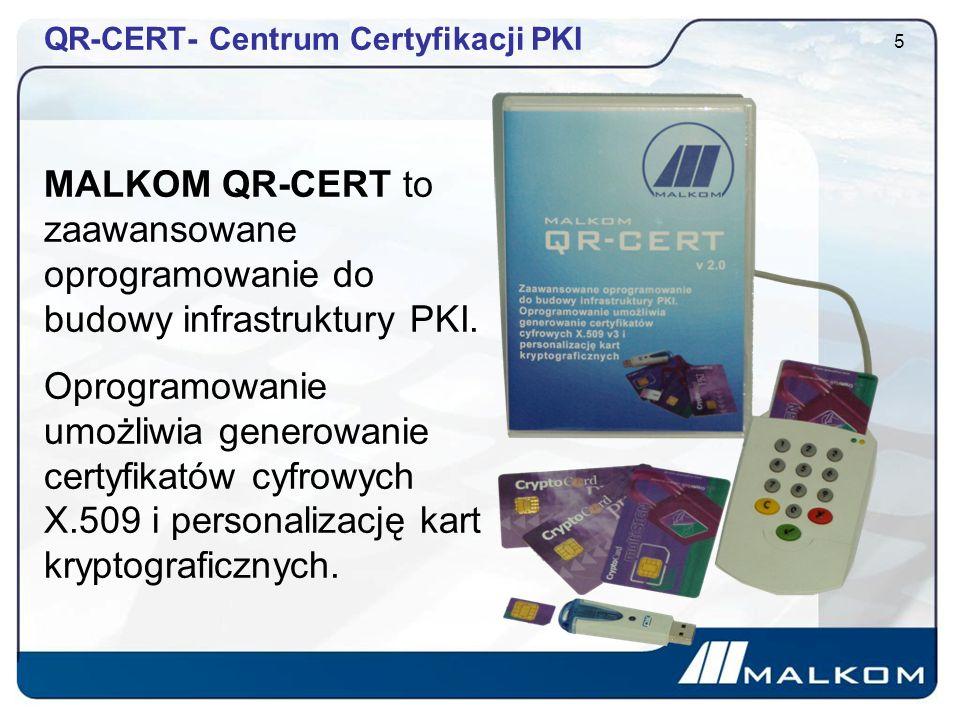 QR-CERT- Centrum Certyfikacji PKI