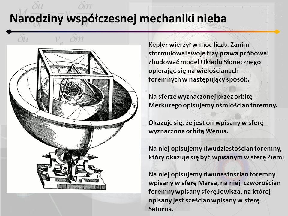 Narodziny współczesnej mechaniki nieba
