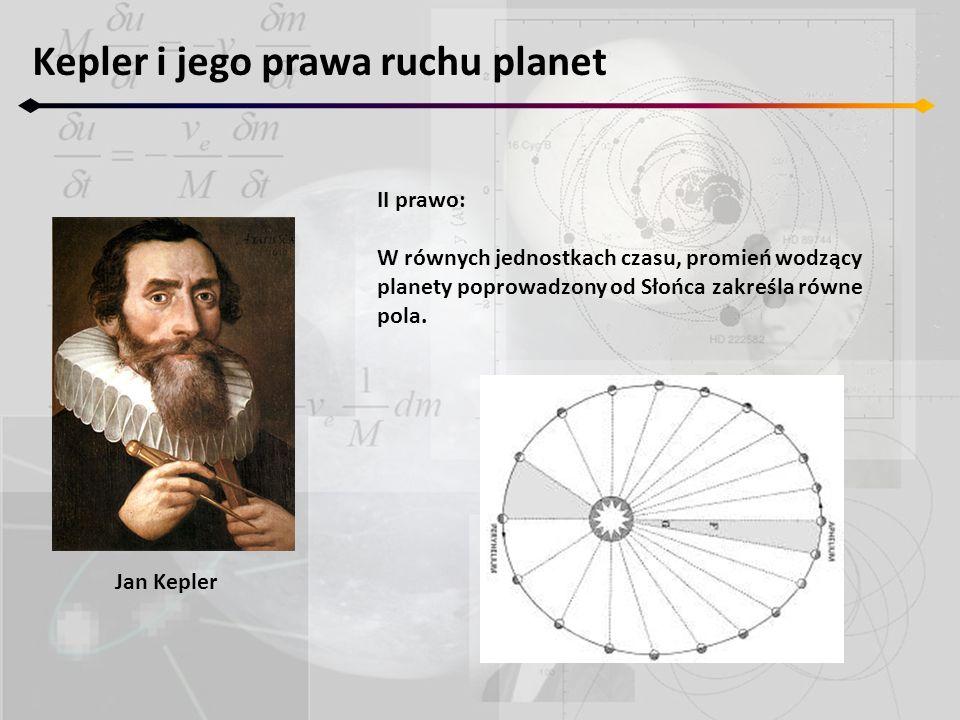 Kepler i jego prawa ruchu planet