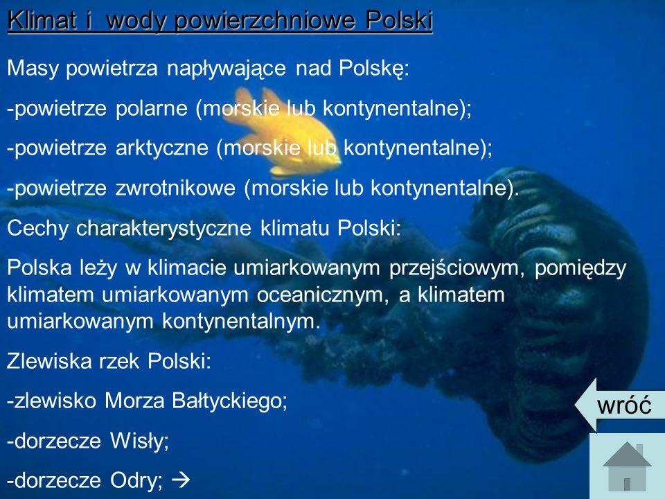 Klimat i wody powierzchniowe Polski