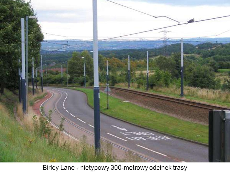 Birley Lane - nietypowy 300-metrowy odcinek trasy
