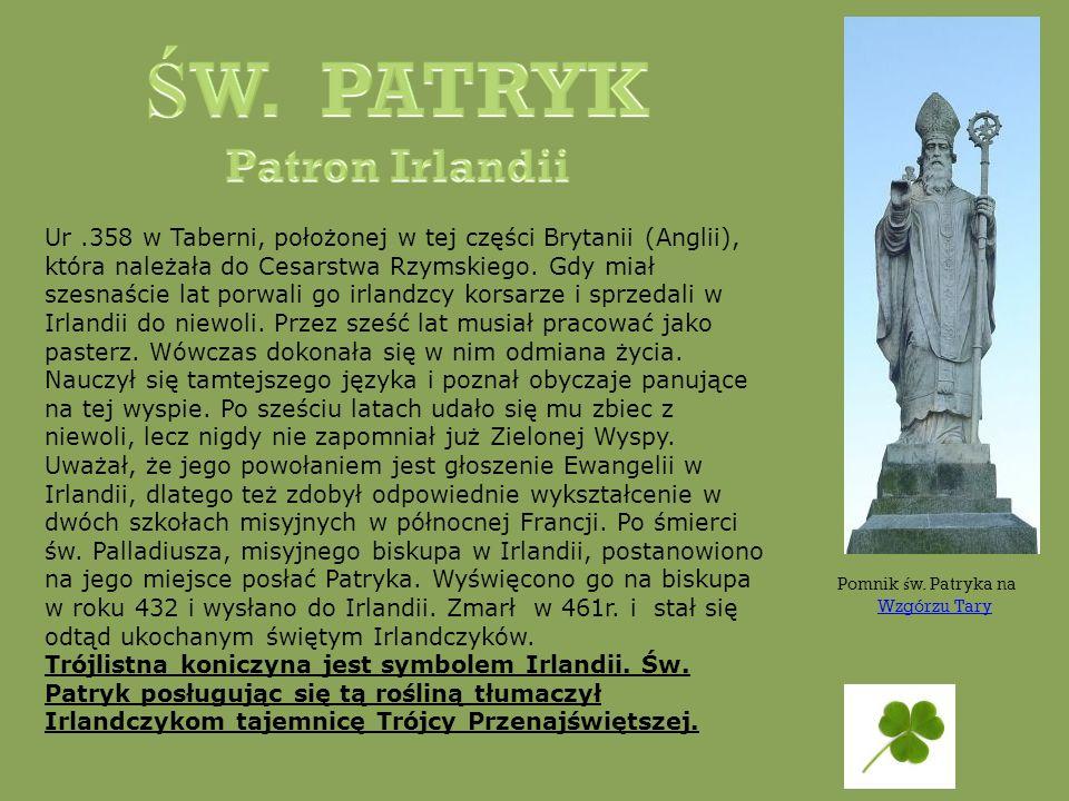 ŚW. PATRYK Patron Irlandii