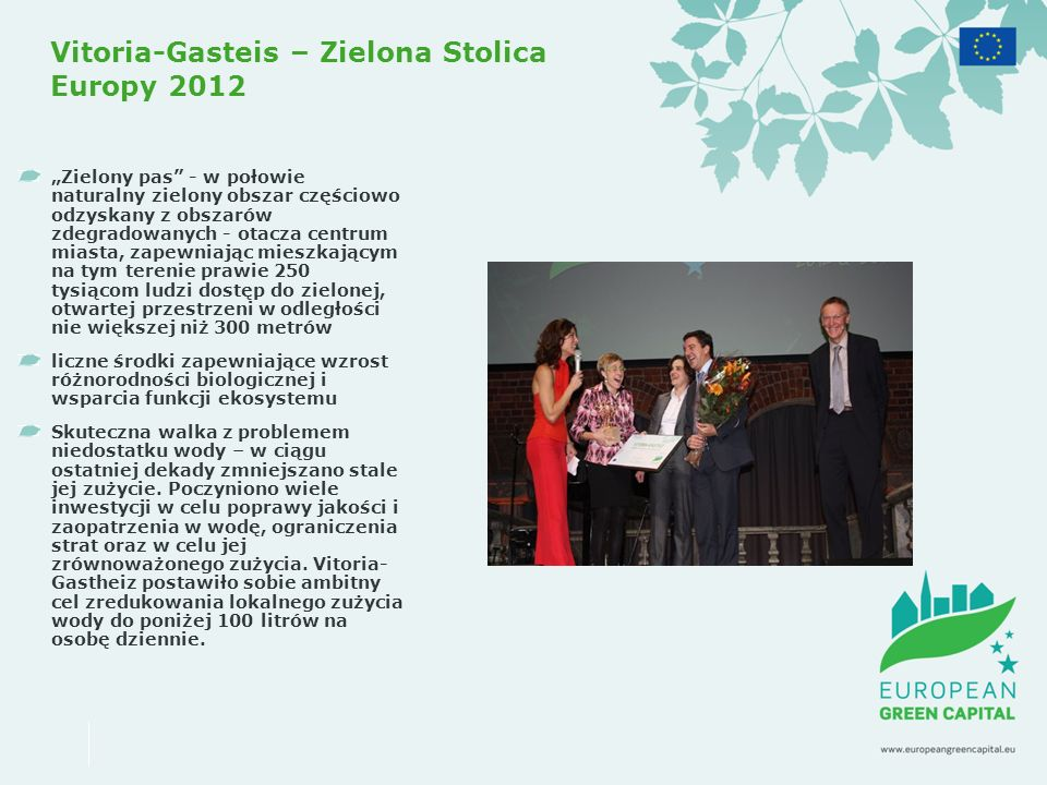 Vitoria-Gasteis – Zielona Stolica Europy 2012