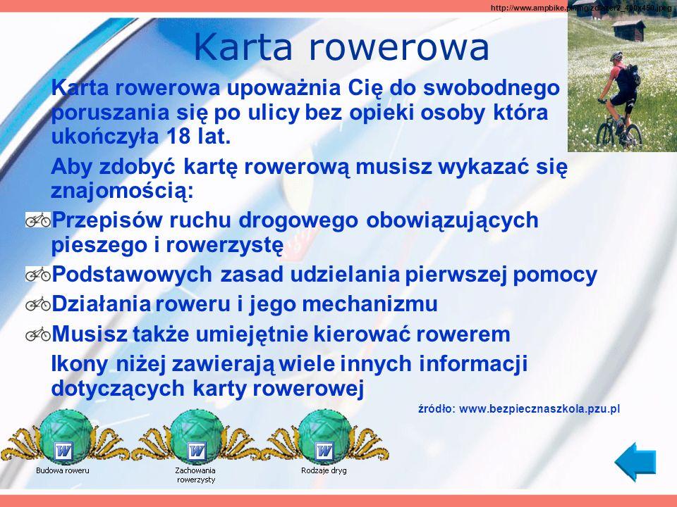 Karta rowerowa http://www.ampbike.pl/img/zdlazer2_400x450.jpeg.