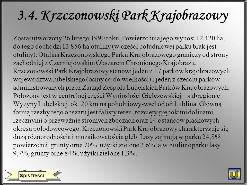 3.4. Krzczonowski Park Krajobrazowy