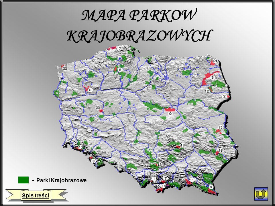 MAPA PARKOW KRAJOBRAZOWYCH