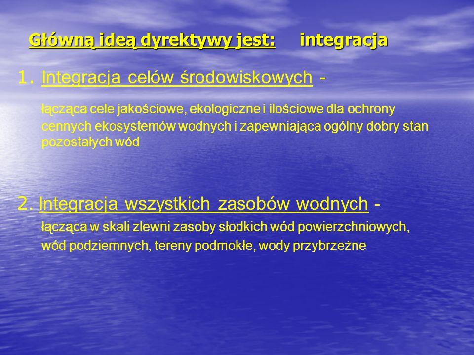 Główną ideą dyrektywy jest: integracja