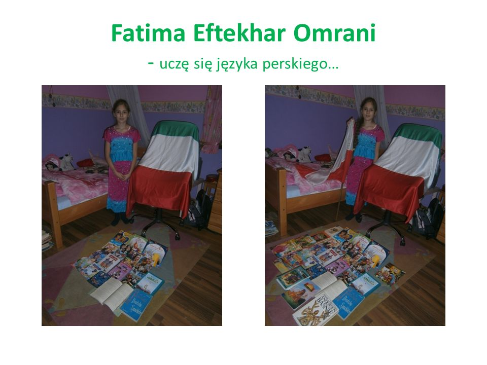 Fatima Eftekhar Omrani - uczę się języka perskiego…