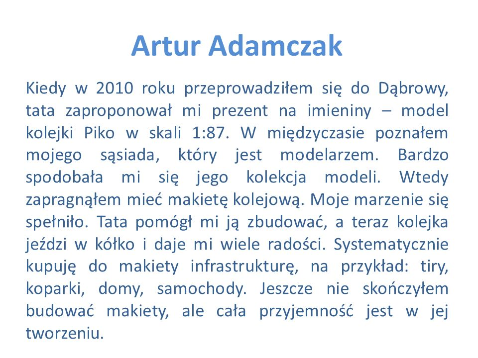 Artur Adamczak