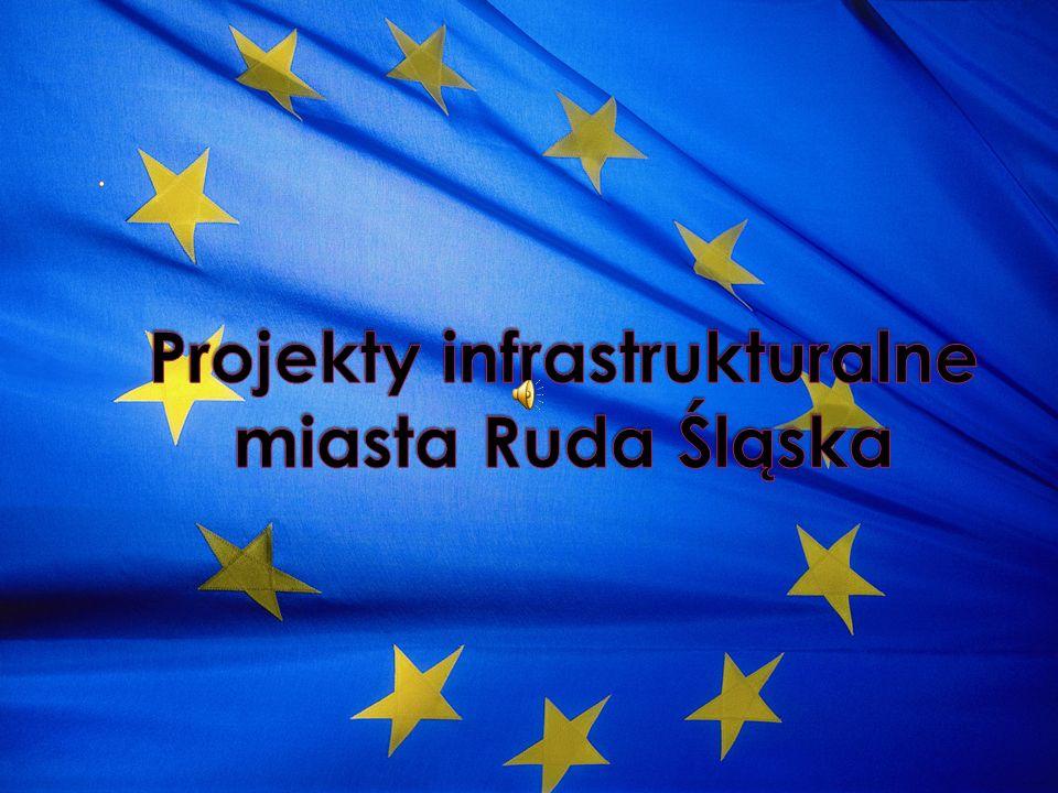 Projekty infrastrukturalne miasta Ruda Śląska