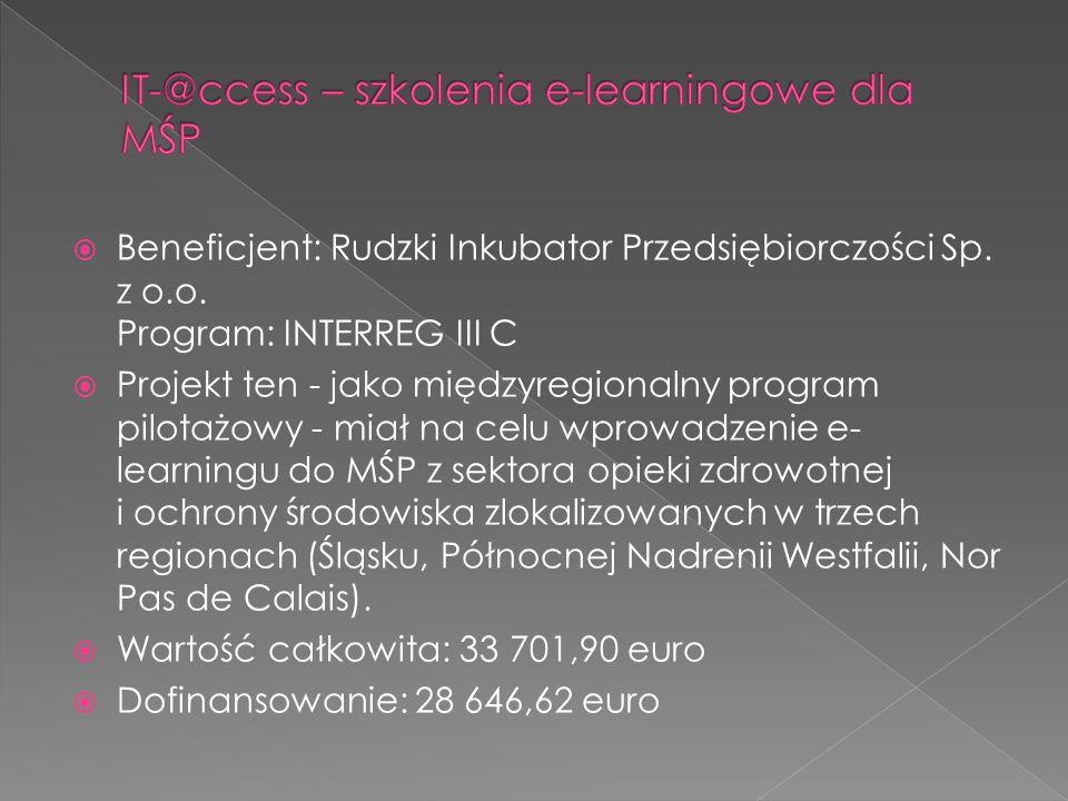 IT-@ccess – szkolenia e-learningowe dla MŚP