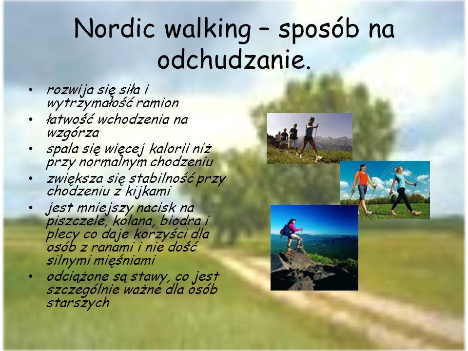 Nordic walking – sposób na odchudzanie.