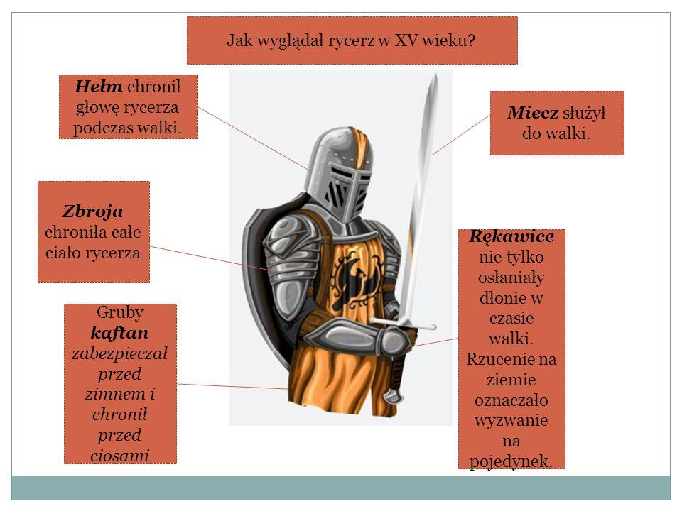 Jak wyglądał rycerz w XV wieku