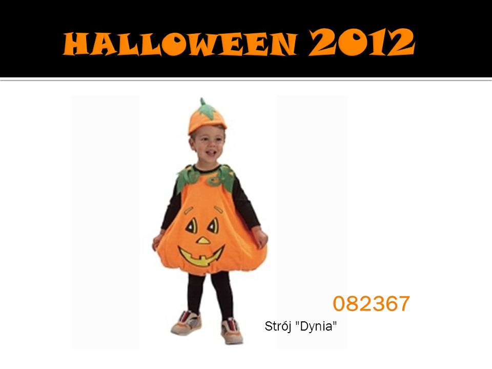 HALLOWEEN 2012 082367 Strój Dynia