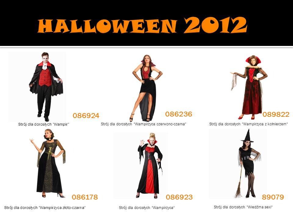 HALLOWEEN 2012 086924. 086236. 089822. Strój dla dorosłych Wampir Strój dla dorosłych Wampirzyca czerwono-czarna
