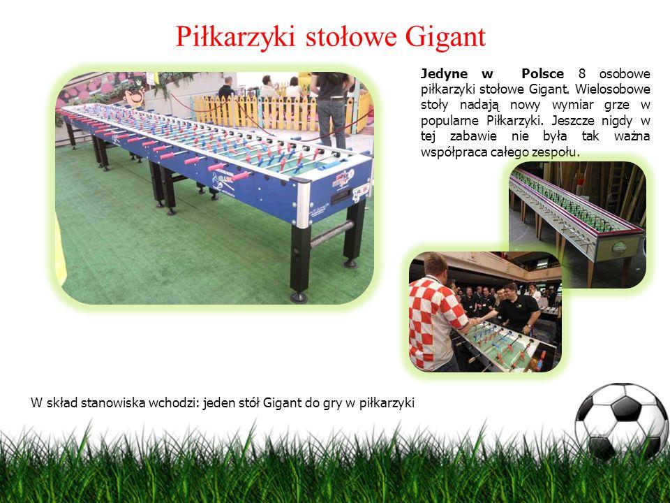 Piłkarzyki stołowe Gigant