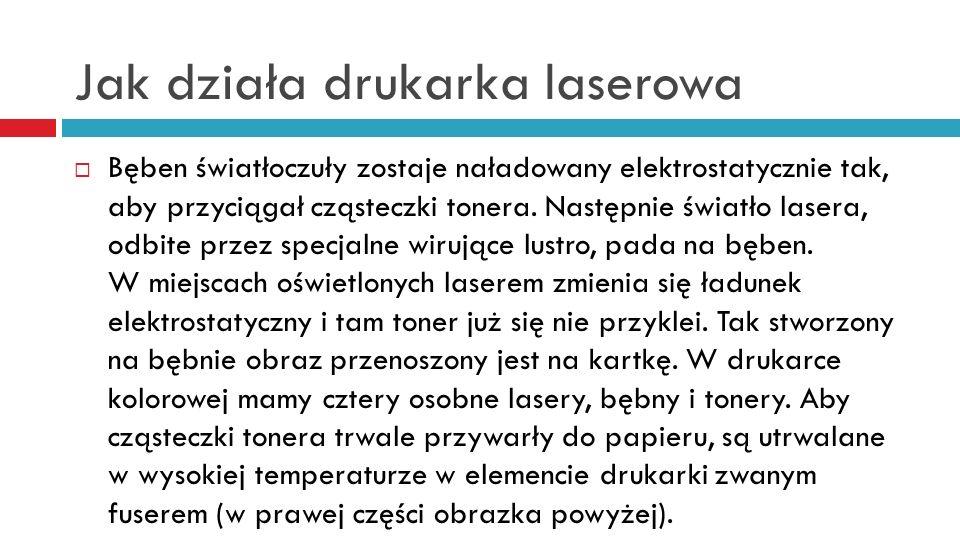 Jak działa drukarka laserowa