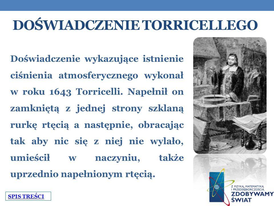 Doświadczenie Torricellego