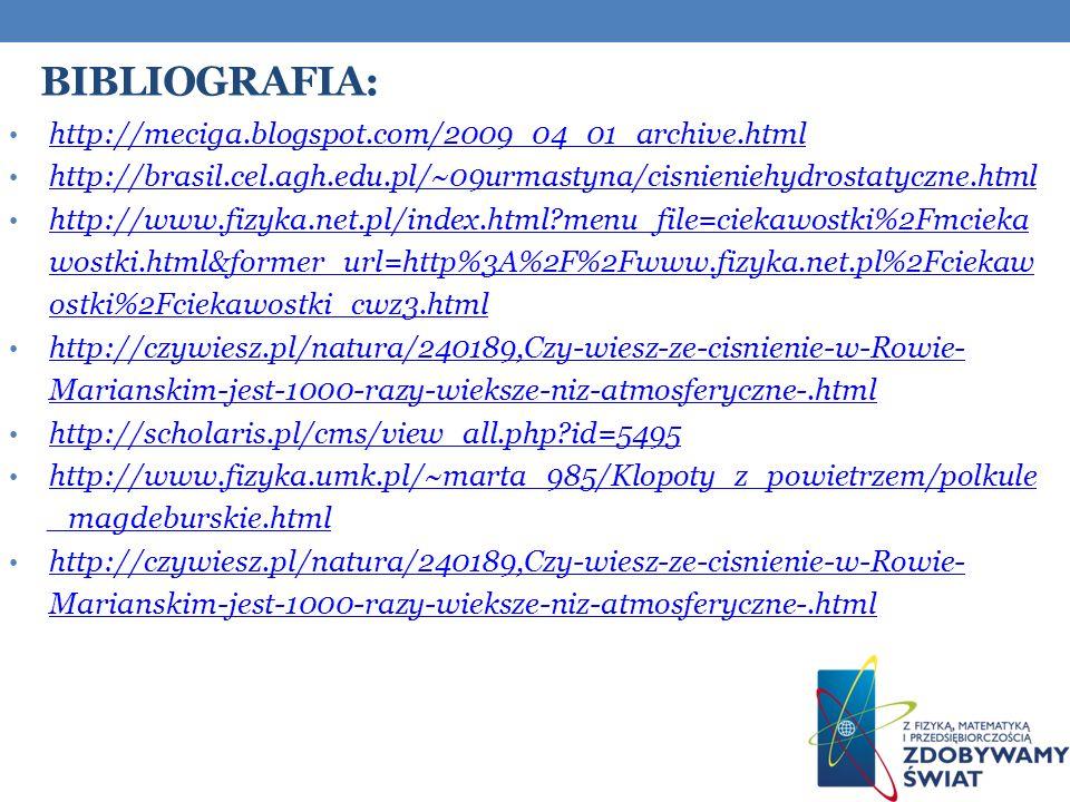 Bibliografia: http://meciga.blogspot.com/2009_04_01_archive.html