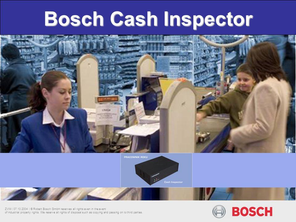 Bosch Cash Inspector
