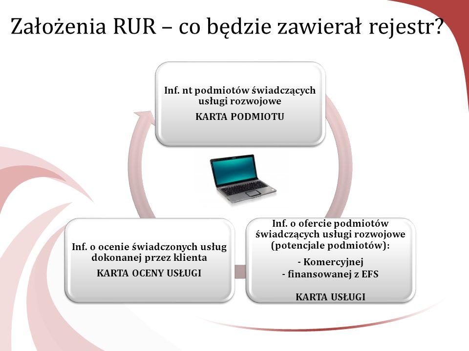 Założenia RUR – co będzie zawierał rejestr