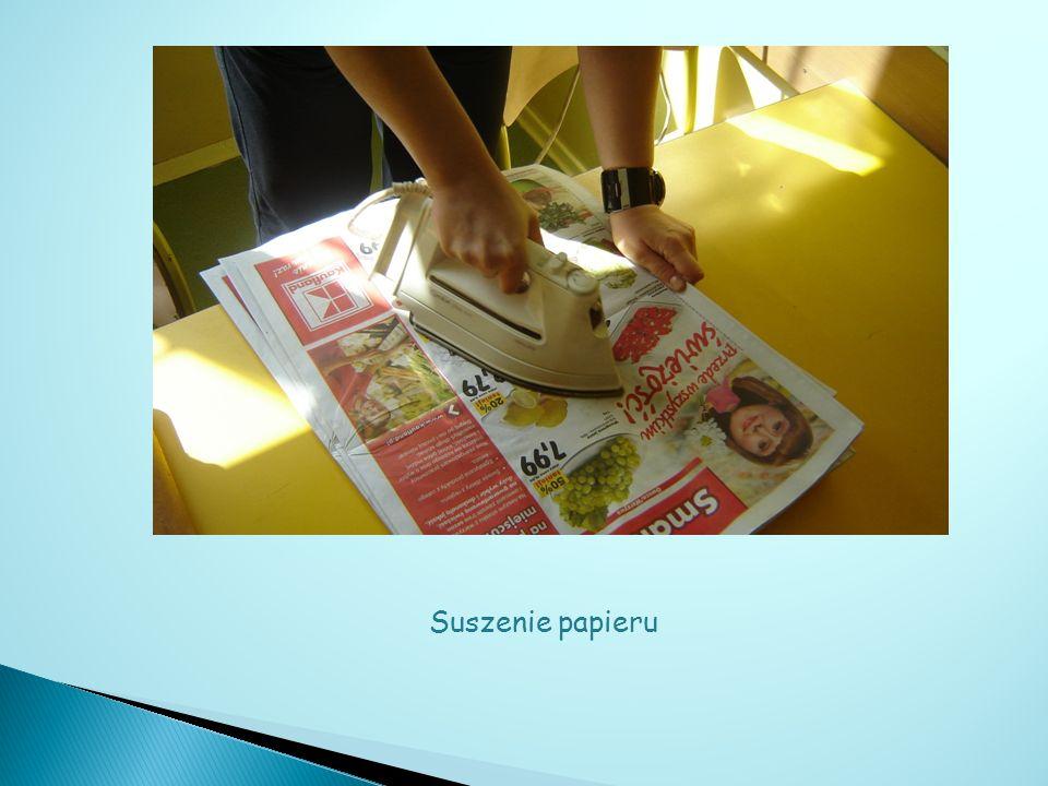 Suszenie papieru