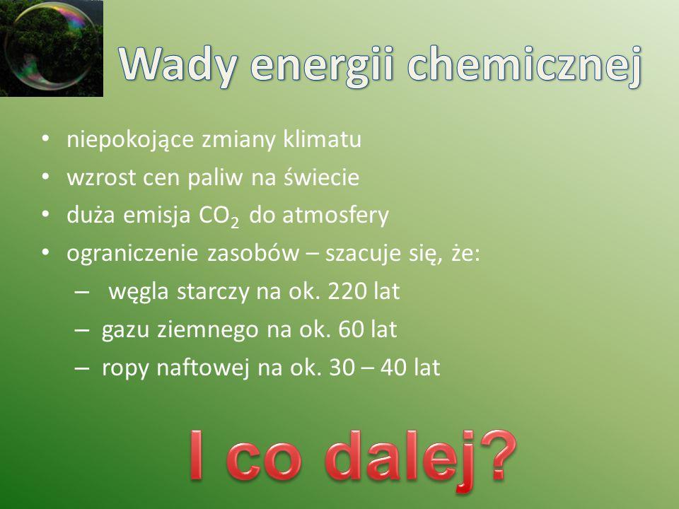 Wady energii chemicznej