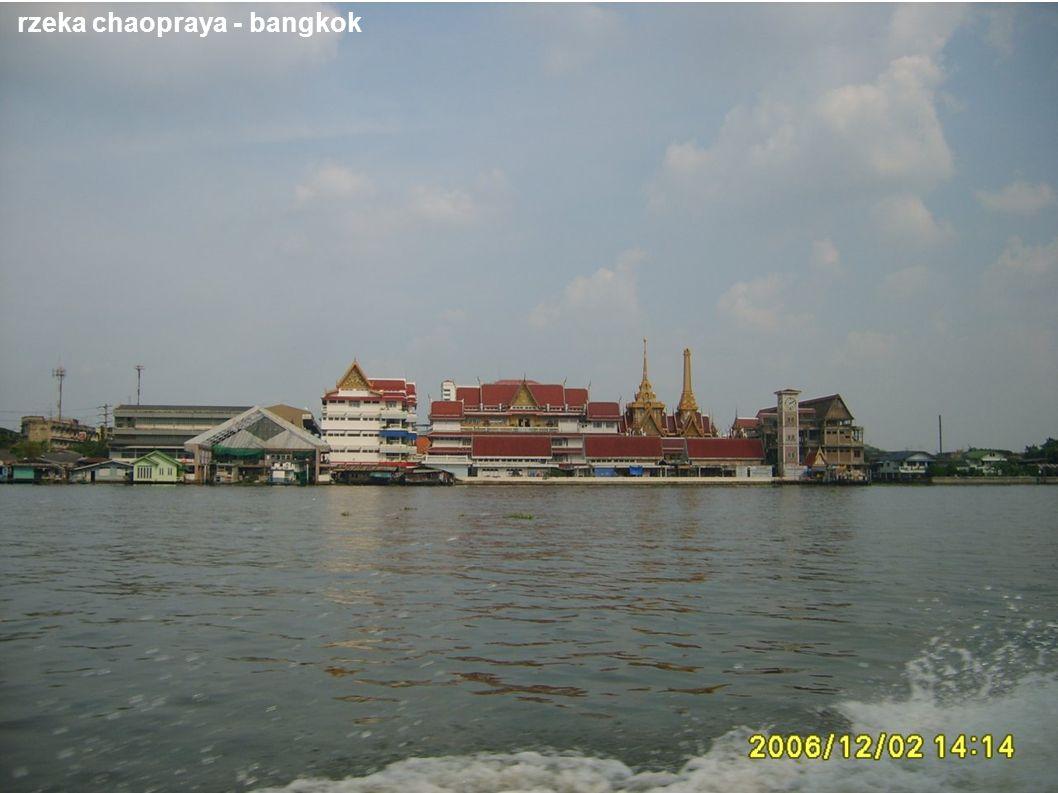 rzeka chaopraya - bangkok