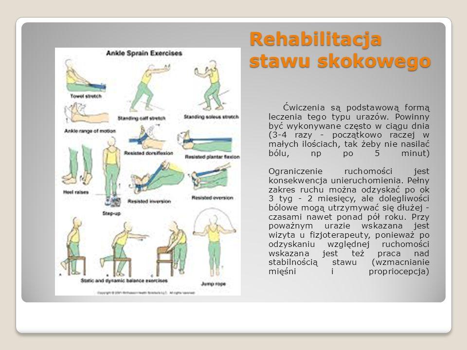 Rehabilitacja stawu skokowego