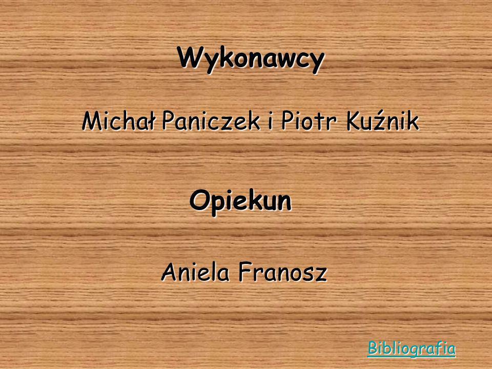 Michał Paniczek i Piotr Kuźnik