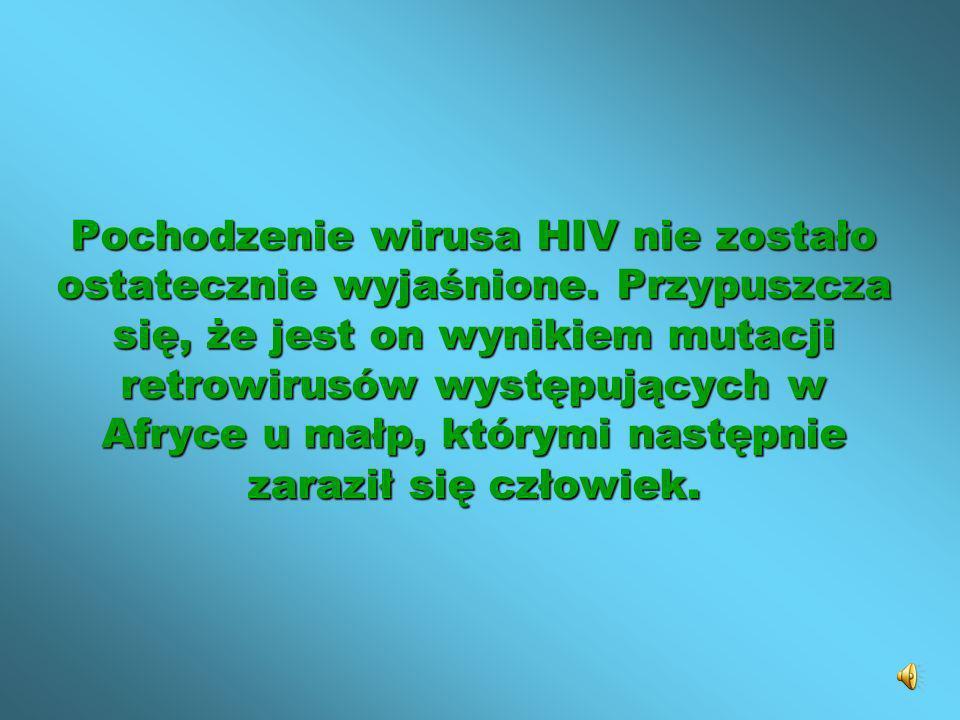 Pochodzenie wirusa HIV nie zostało ostatecznie wyjaśnione