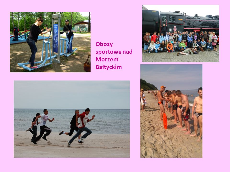 Obozy sportowe nad Morzem Bałtyckim