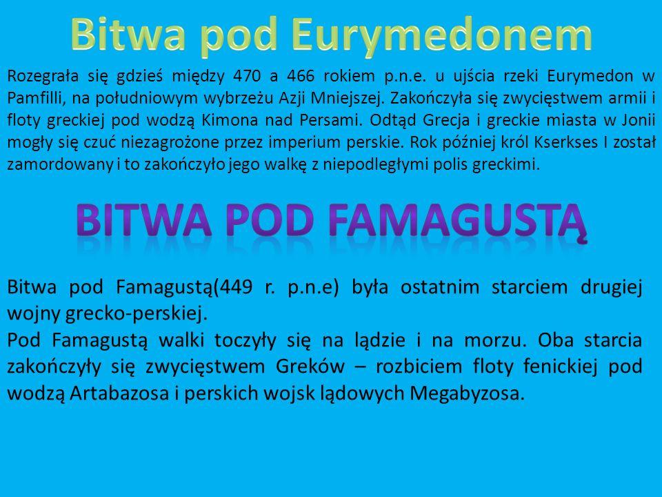 Bitwa pod Eurymedonem Bitwa pod Famagustą