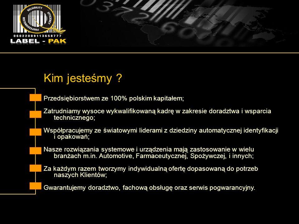 Kim jesteśmy Przedsiębiorstwem ze 100% polskim kapitałem;