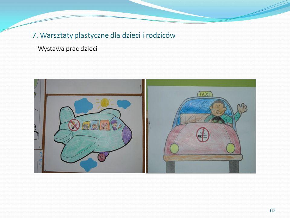 7. Warsztaty plastyczne dla dzieci i rodziców