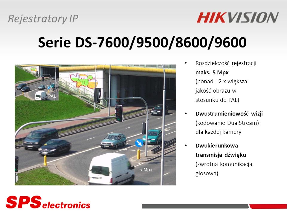 Serie DS-7600/9500/8600/9600 Rejestratory IP Rozdzielczość rejestracji