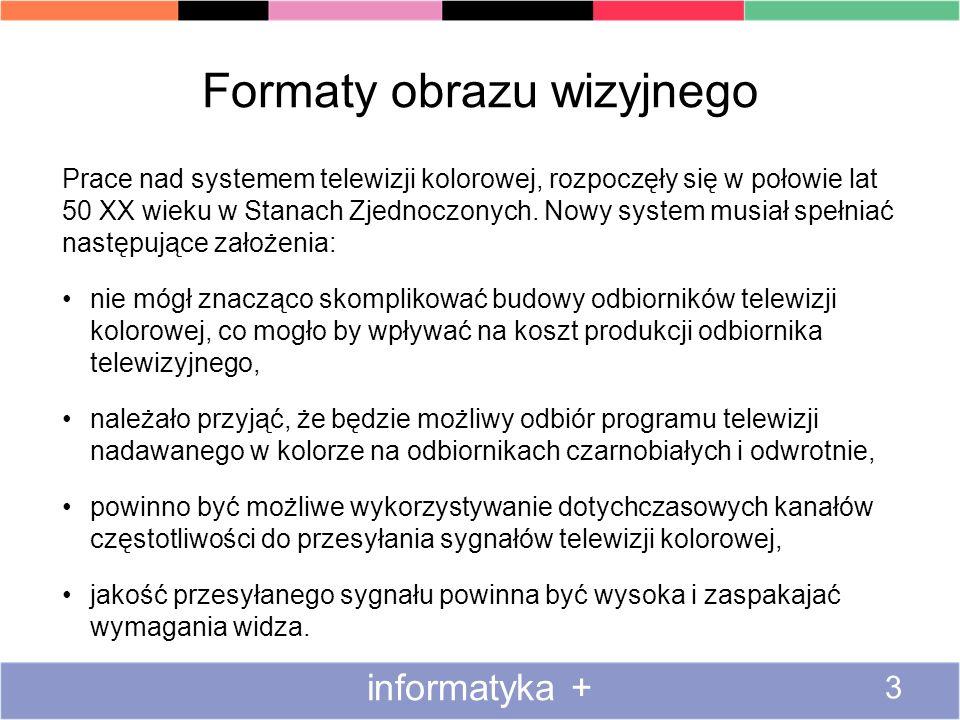 Formaty obrazu wizyjnego