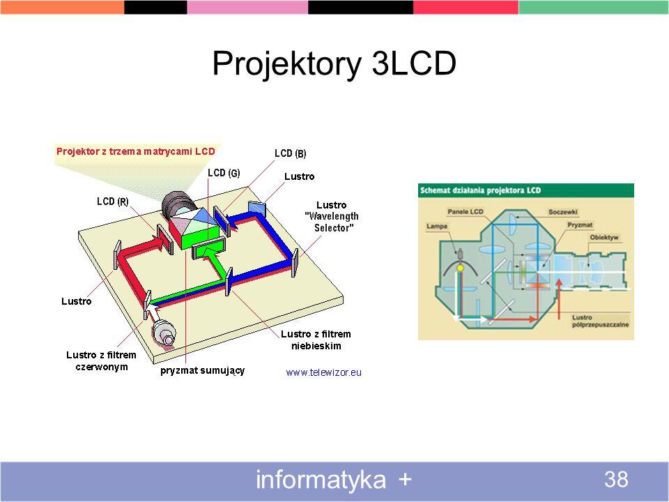 Projektory 3LCD informatyka +