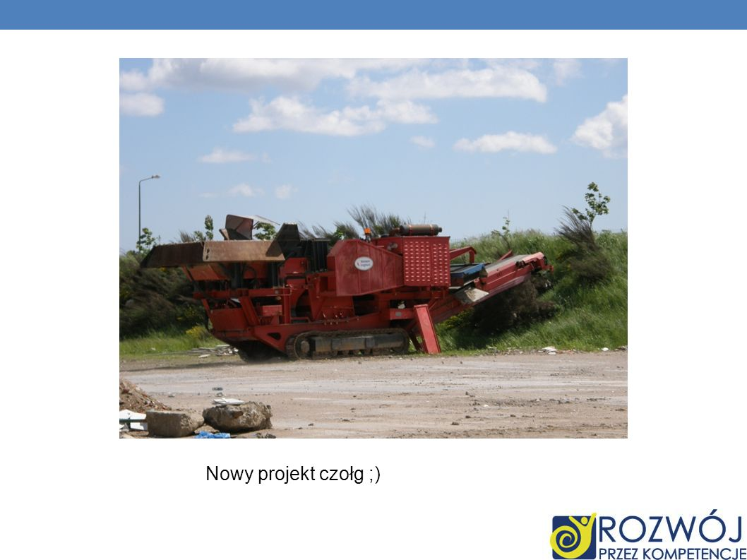 Nowy projekt czołg ;)