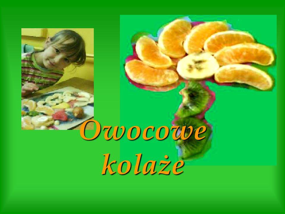 Owocowe kolaże