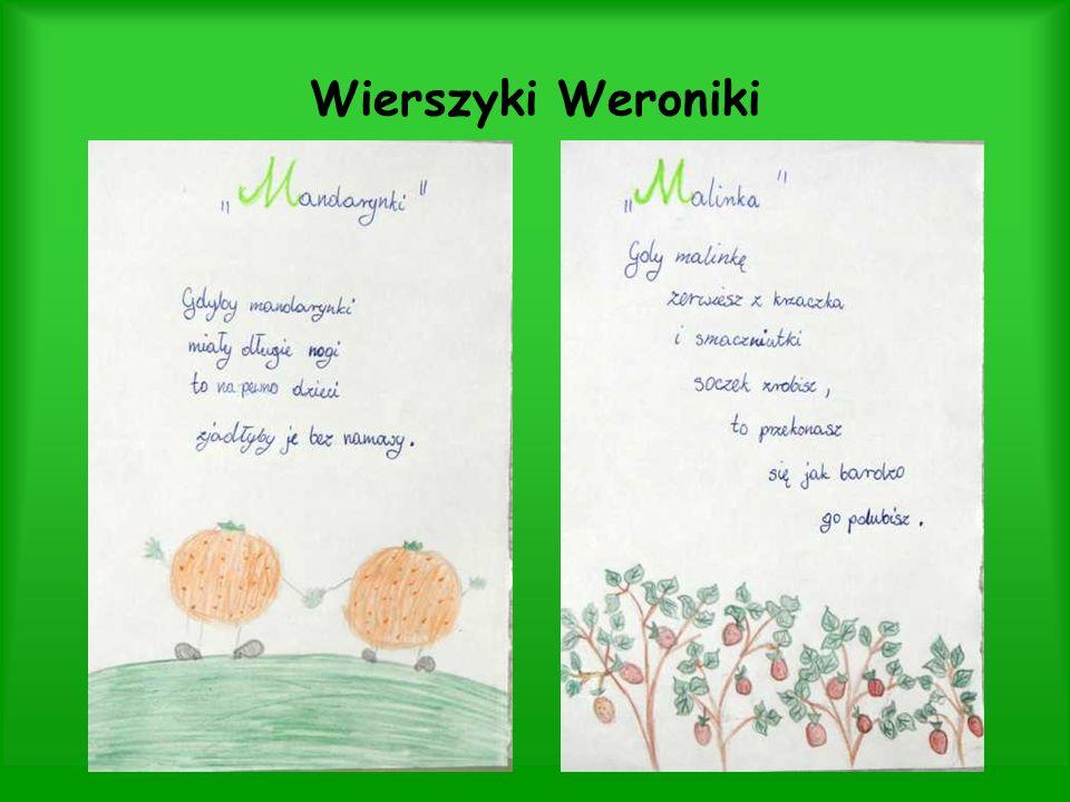 Wierszyki Weroniki