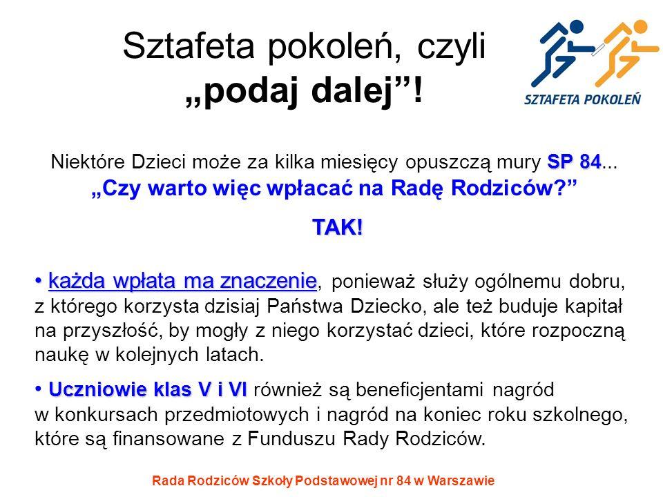 """Sztafeta pokoleń, czyli """"podaj dalej !"""