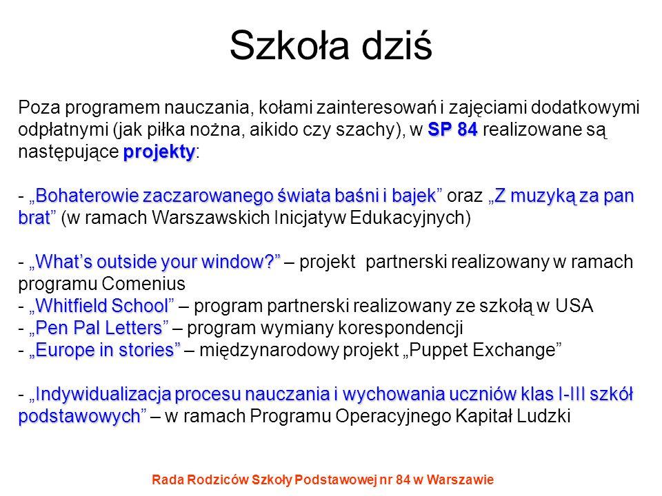 Rada Rodziców Szkoły Podstawowej nr 84 w Warszawie