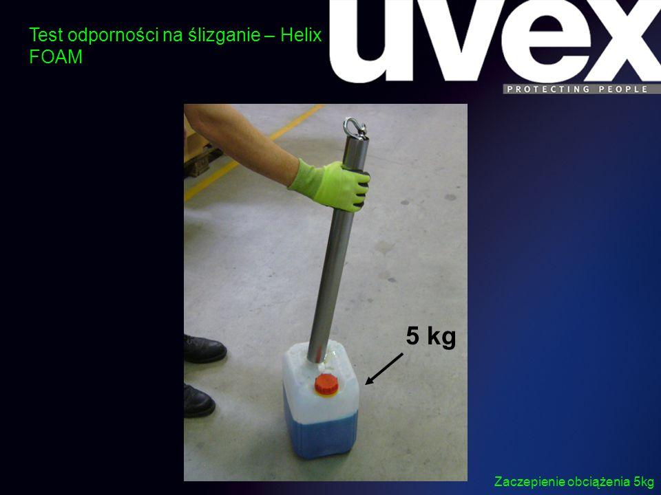5 kg Test odporności na ślizganie – Helix FOAM