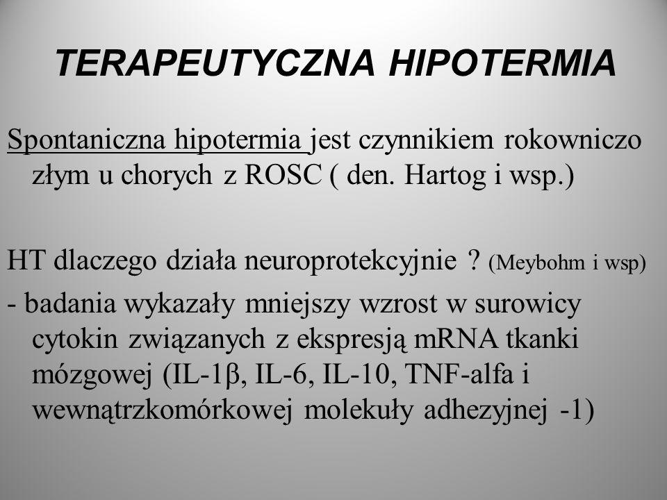 TERAPEUTYCZNA HIPOTERMIA