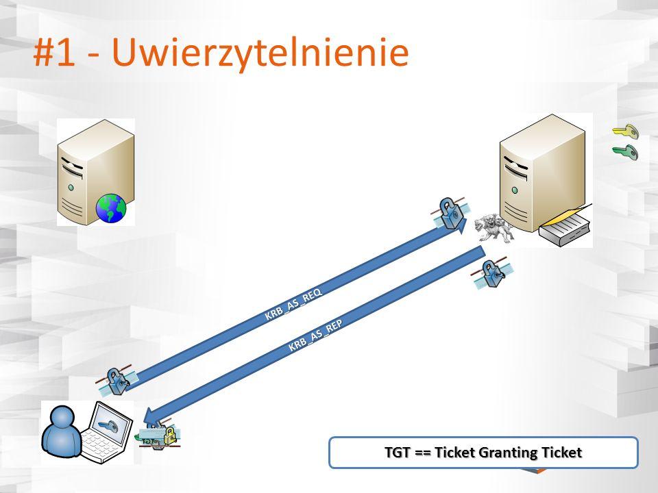 TGT == Ticket Granting Ticket