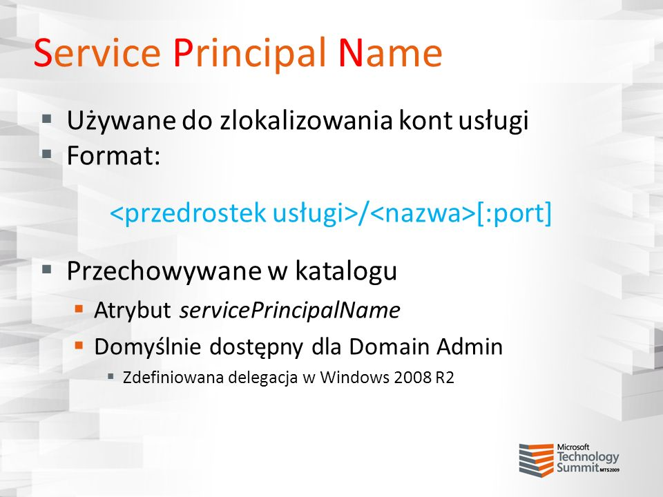 Service Principal Name