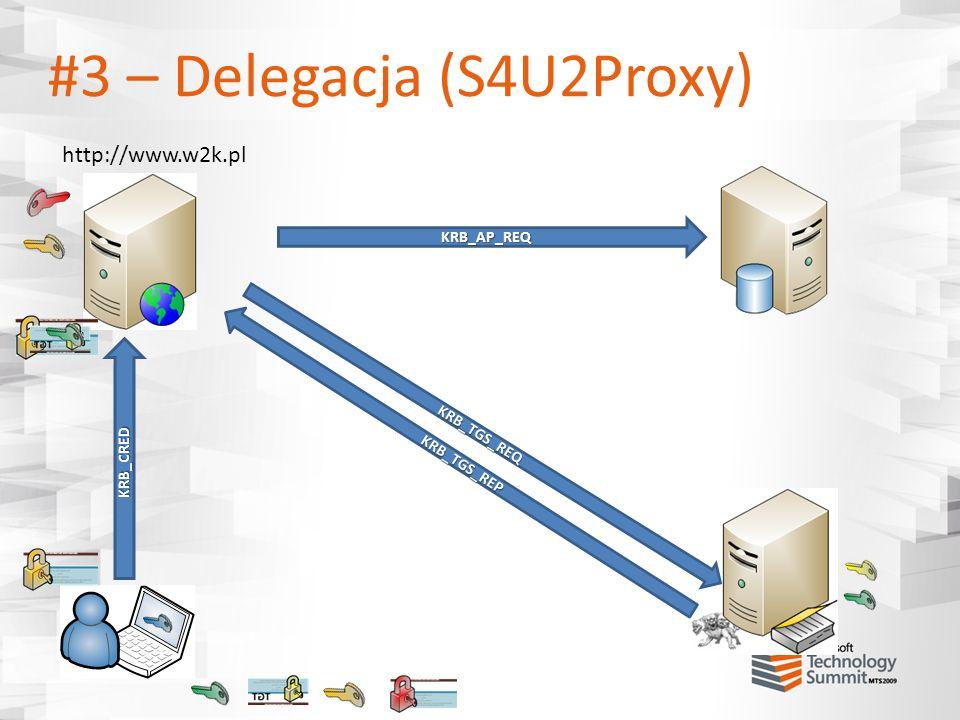 #3 – Delegacja (S4U2Proxy)