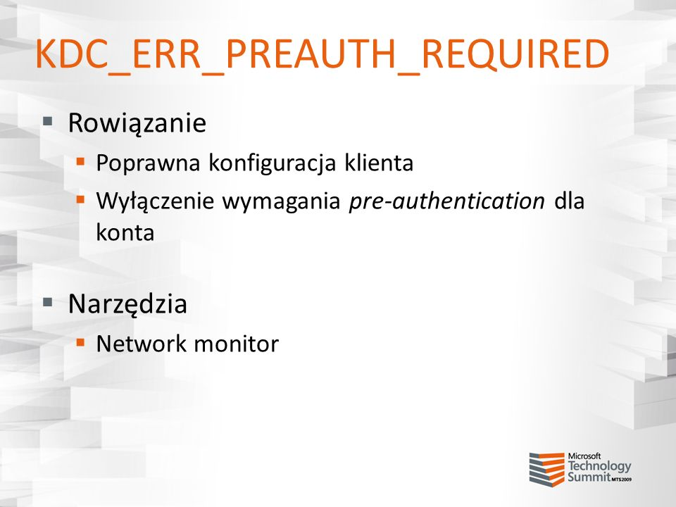 KDC_ERR_PREAUTH_REQUIRED